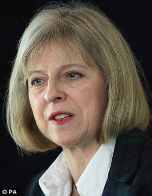 Home Secretary Theresa May has signalled a new line on EU migrants