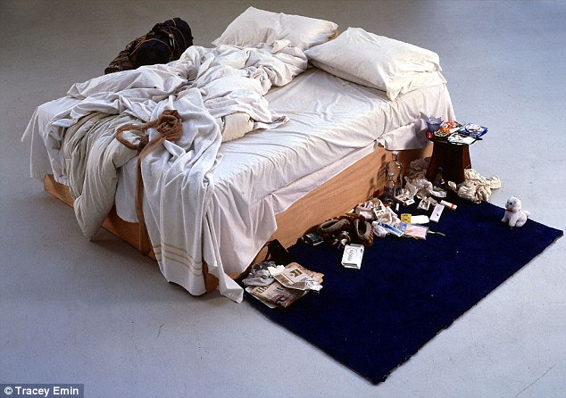 Shocking: When My Bed by Tracey Emin was revealed, it appalled the critics. But it became symbolic