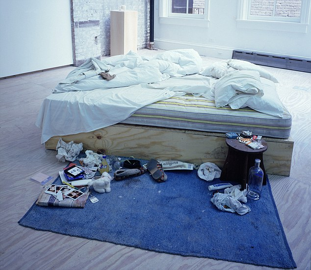 Legend: Should the unmade bed be 'saved for the nation', as was argued in the Guardian's pages this week?