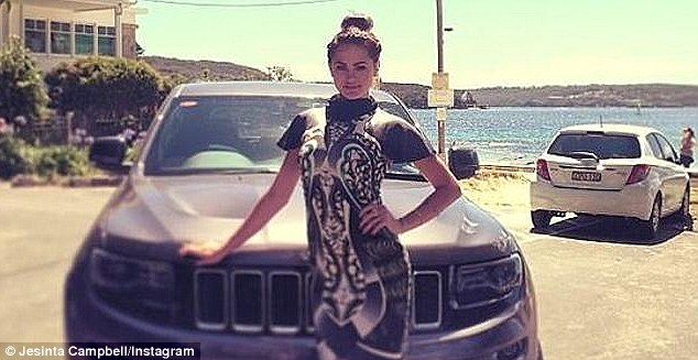 She got a Jeep! The Getaway host drives a sponsored vehicle as she is an ambassador for the brand