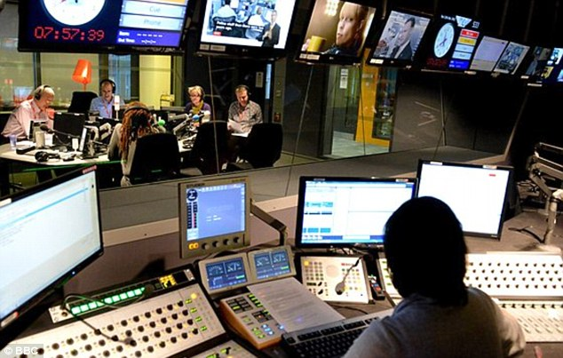 Hitting rocks: BBC listeners had their morning upended when the shipping forecast failed to air on Radio 4