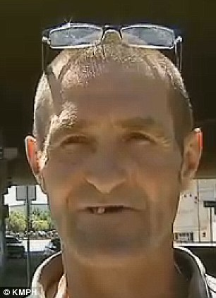 Not-so average Joe: Joe Cornell, 52, a homeless recovering meth addict, returned a bag filled with $125,000 in cash after it fell off an armored truck
