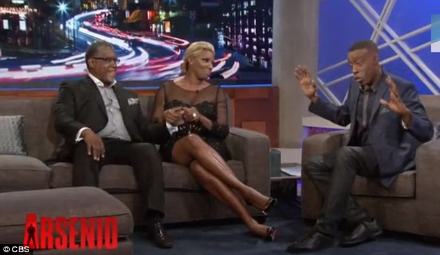 I'm just saying: The 58-year-old host held up his hands while chatting with Real Housewives of Atlanta star NeNe Leakes and her husband Gregg in October 2013