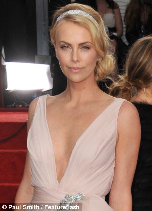 Courting controversy: Charlize Theron said she doesn't Google herself because 'it feels like being raped'