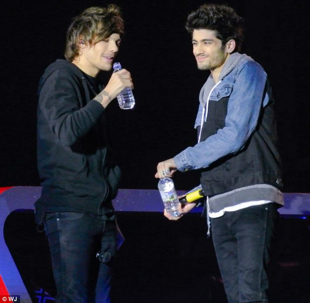 Hot water: Louis Tomlinson and Zayn Malik have come under fire after 11-year-olds found their video 'hot'