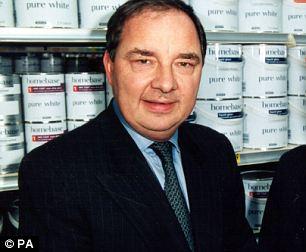 John Lovering in his days at Homebase in 2001.
