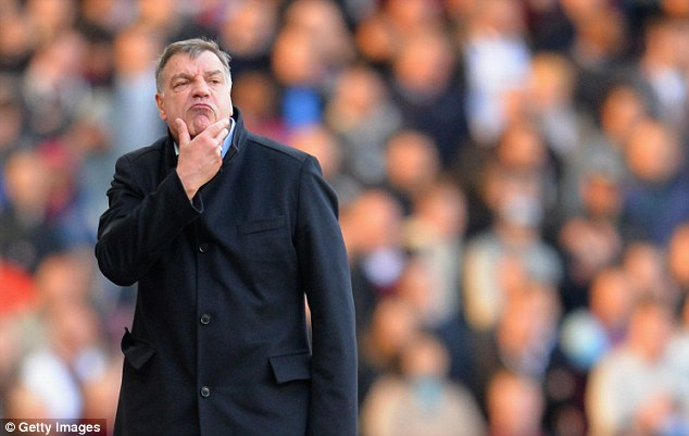 Let go: Hammers boss Sam Allardyce deemed the 25-year-old to be surplus to requirements at the club