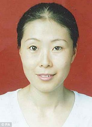 Rui Li, 44, was last seen on 23 May - her body was found on Friday night in the boot of a car