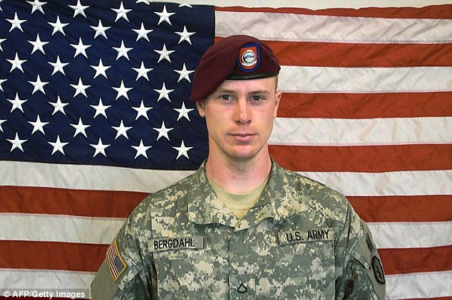 Swap: Sgt Bergdahl, 28, was handed over to U.S. special forces in exchange for five Guantanamo detainees