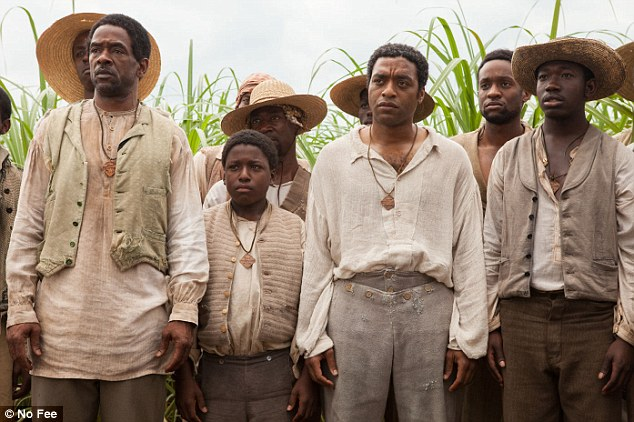 Hollywood named the historical drama 12 Years a Slave starring Chiwetel Ejiofor best picture at the Oscars