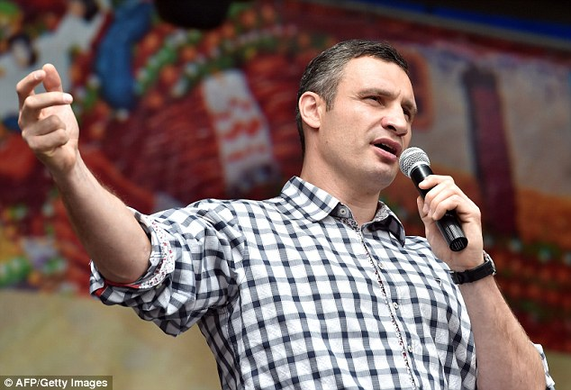 He told the activists he plans to create a representative body of the Maidan in the city council