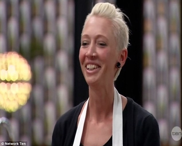 'You've blossomed': The 30-year-old was happy with finally getting the attention of the celebrity chefs