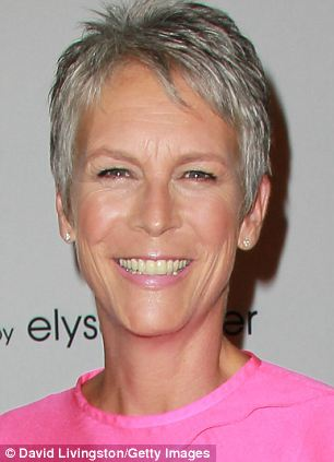 Actress Jamie Lee Curtis pictured at a Hollywood party in 2011