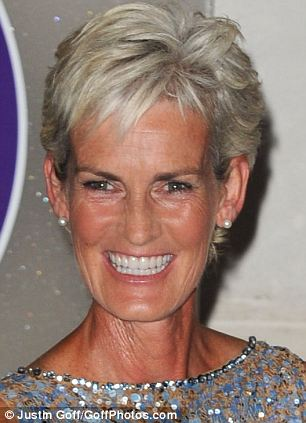 Judy Murray, mother of Men's Singles Final winner Andy Murray at the Wimbledon Champions Dinner 2013 InterContinental Hotel, London