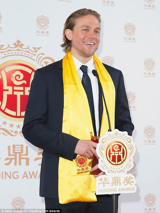 Winner: He received the Best Global Emerging Actor award