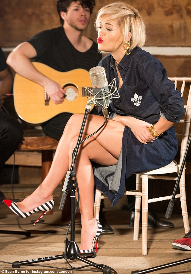 Roc The Life: Rita Ora performed an exclusive acoustic version of her latest single, I will Never Let You Down, for SBTV.co.uk