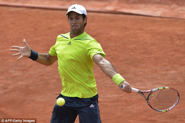 Clay specialist: The Scot says he is the underdog against the experienced Verdasco (above)