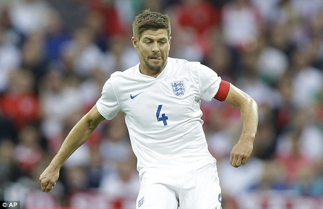 Tough ask: Steven Gerrard's Three Lions face Costa Rica, Italy and Uruguay in Group D