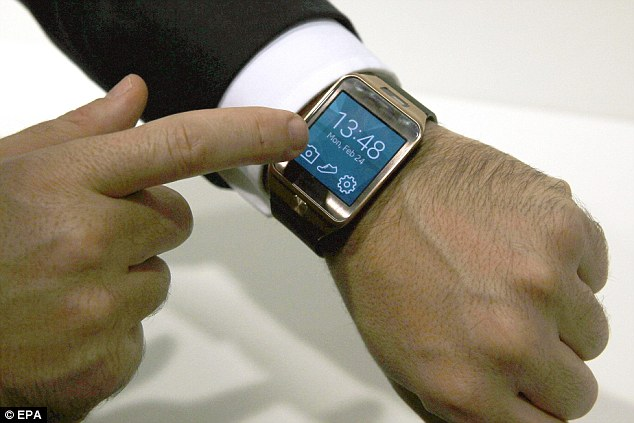 Samsung already uses the Tizen operating system on its Gear 2 smartwatch (pictured). The release of a phone running Tizen is seen as an attempt to unify the operating system between its various devices. Tizen also runs using HTML5, the popular web language of choice over Java and Flash