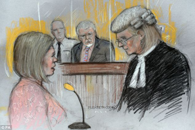 Rolf Harris's daughter Bindi Nicholls (left), told the court of her shock when she heard of her father's affair with the woman in later life, but said the alleged victim did not mention any underage abuse