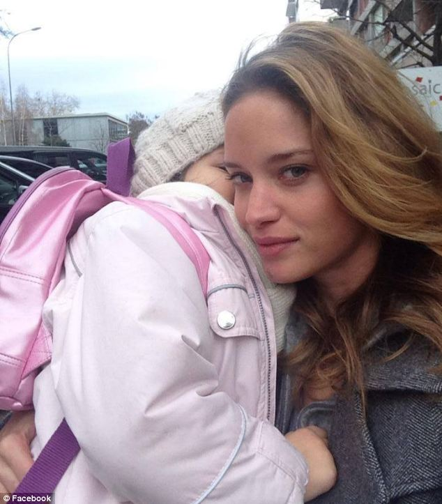 Family: She has a four-year-old daughter, Mathilde (pictured), with her husband, and three step children