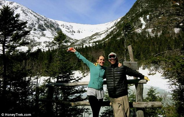 Wrapped up: At the Tuckerman Ravine, New Hampshire