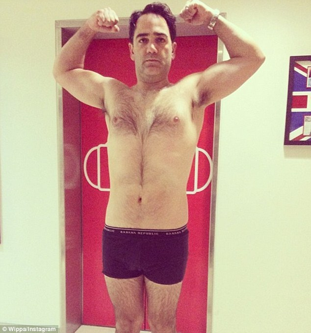 'It's a lifestyle': The Nova 969 presenter showcased his 8kg weightloss in March posting an image of his trimmer physique on social media accounts