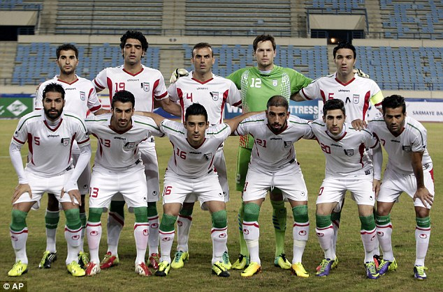 Playing for pride: Iran will be hoping to better their total of one point from World Cup 2006