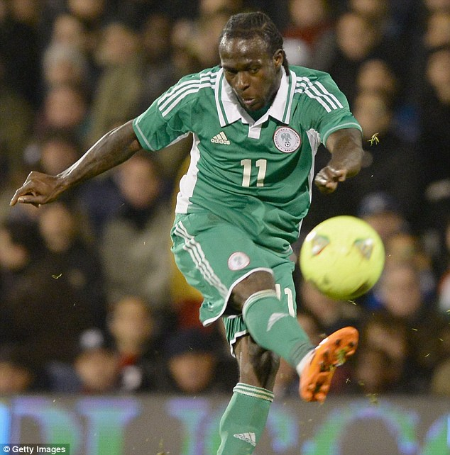 Big time: Victor Moses will be hoping to finally prove his worth on the big stage after a difficult period