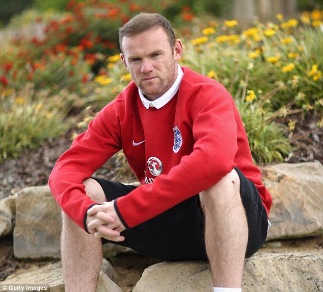 Determined: Rooney is desperate to prove his worth after several disappointments at international level