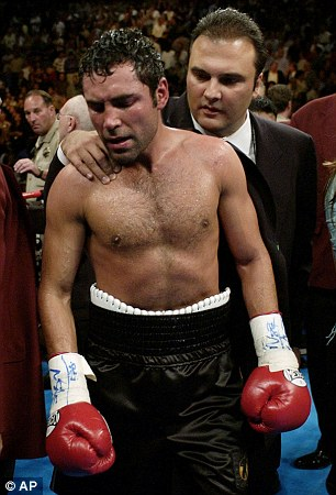 Differences: Richard Schaefer and Oscar De La Hoya