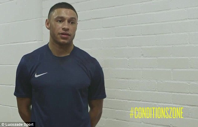 Ready: Oxlade-Chamberlain has revealed he will prepare right in order to deal with the hot and humid conditions of Manaus