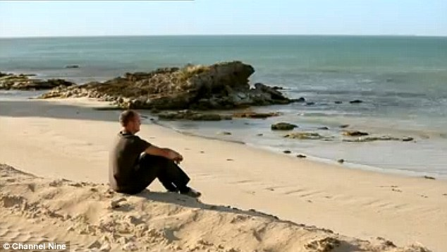 Only the lonely: The South Australian blokes were left pondering the future of their romances after the love bus stopped in Robe