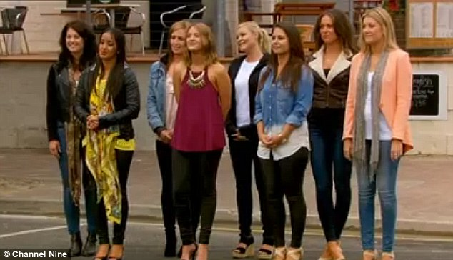 Competition: The reality series female contestants are battling it out in When Love Comes to Town