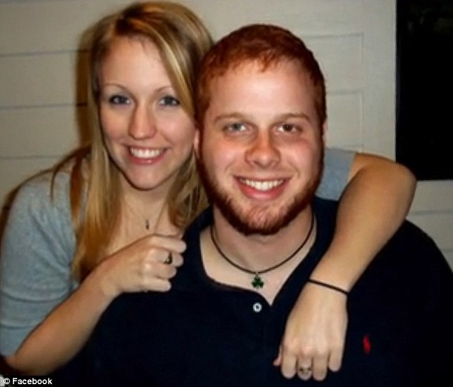 Crazed: Robert Burton is pictured here with Melissa Dohme before he unleashed his horrifying assault on her in January 2012