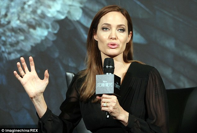 Promo: The Hollywood star is travelling the world to promote her latest film