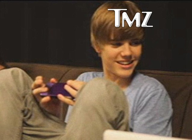 Apologised: The first video showed Bieber in 2009 telling a racist joke but he has apologised