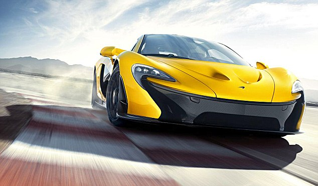 Need for speed: McLaren sold 36 versions of its new P1 supercar model