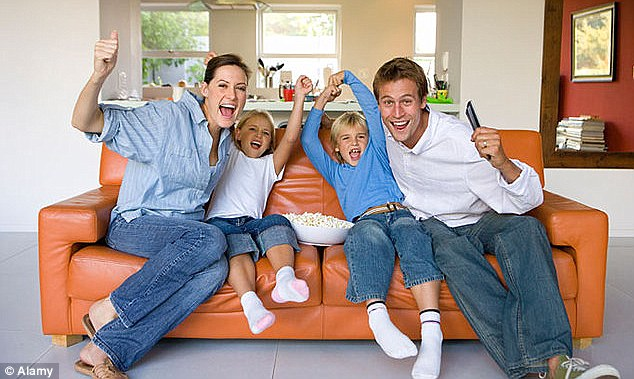 Happy: Save money on your home bills and you'll have more to spend elsewhere - or save