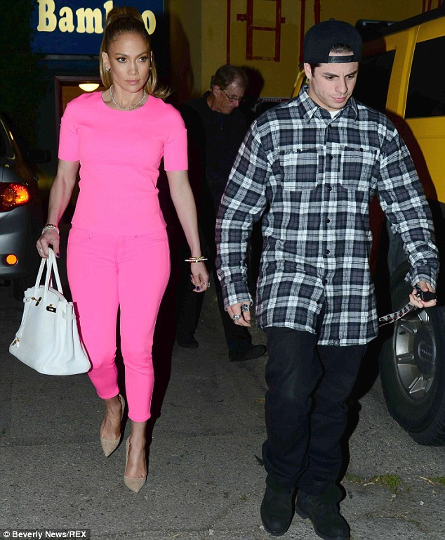 Done: Jennifer Lopez and Casper Smart, shown in March in Los Angeles, have broken up according to reports