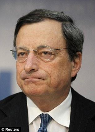 Deflation threat: European Central Bank President Mario Draghi has taken action as the eurozone economy stumbles