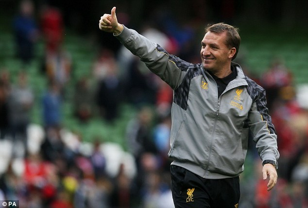 He's ours! Brendan Rodgers is also interested in Moreno and Liverpool remain favourites to sign the full-back
