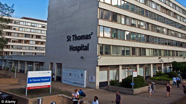 New tragedy: A second baby fed on a contaminated drip died today, ten days after nine-day-old Yousef Al-Kharboush died in the premature unit at St Thomas' Hospital in London