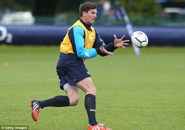 Big test: Freddie Burns was an outside candidate but injuries have helped the fly half back into the team