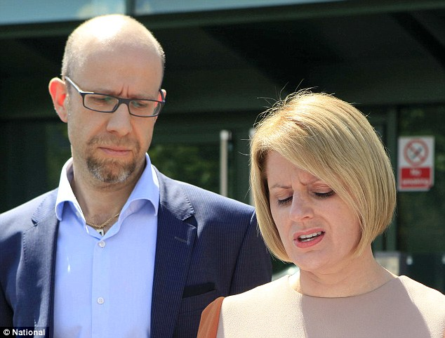 ITH Pharma CEO Karen Hamling and her husband Adam Bloom made a brief statement yesterday at their Park Royal production plant