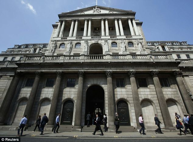 The Bank of England has kept the benchmark 'bank rate' at its record low of 0.5 per cent since early 2009.