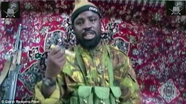 The extreme Islamist group, led by Abubakar Shekau (pictured), has swept through northeastern Nigeria