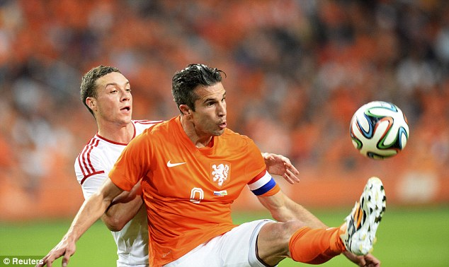Tired? Robin van Persie suffered a tight groin during Holland's friendly against Wales