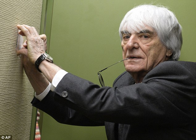 Writing is on the wall: There is an opportunity for Ecclestone, and F1, to generate money from social media
