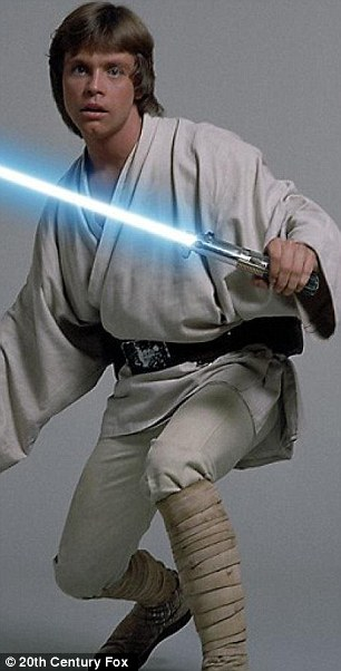 Use the force Luke: Mark first stepped into Skywalker's shoes at the age of 26 in Star Wars: A New Hope